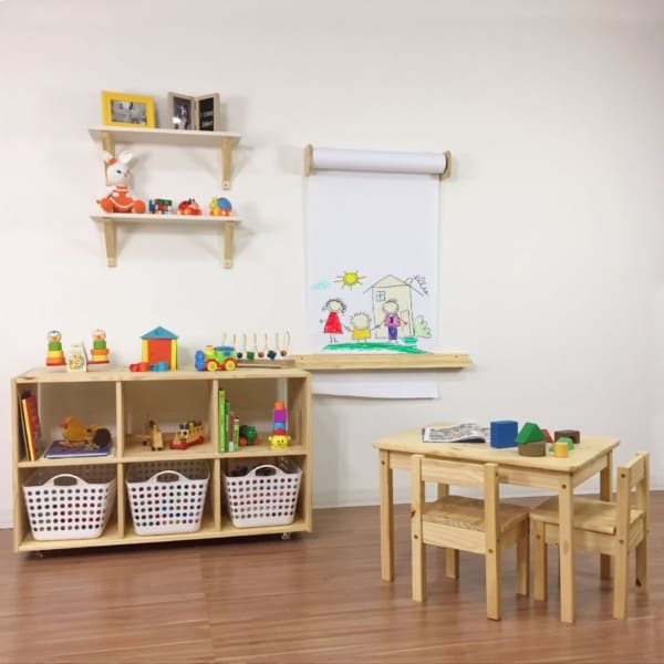 Mesa do tamanho das crianças