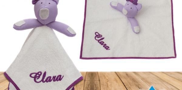 Naninha com ursinho personalizada