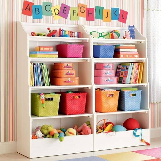 Nichos e prateleiras para brinquedoteca 3