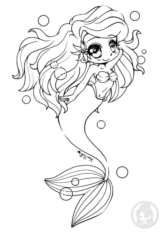 O estilo de sereia Kawaii chama muita atenção das crianças