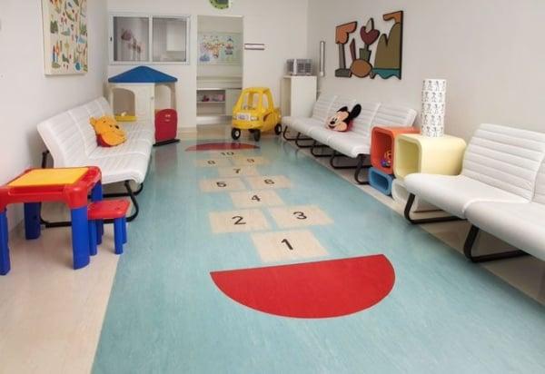 Outro modelo de piso vinílico infantil