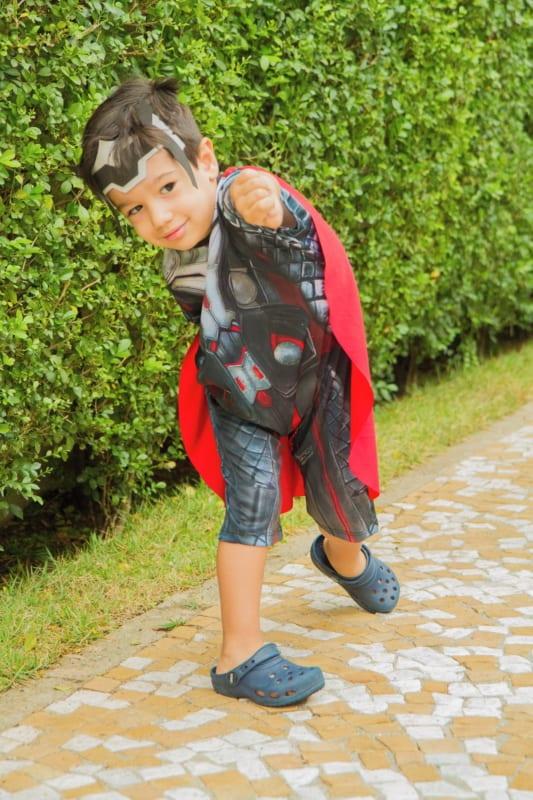 fantasia thor infantil menino customizada