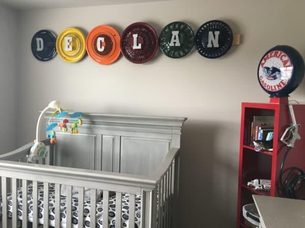 temas para quarto de bebê carrinho
