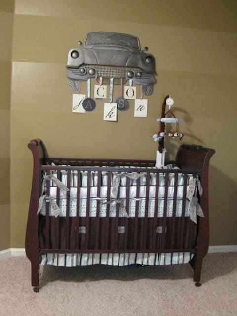 temas para quarto de bebê carros antigos