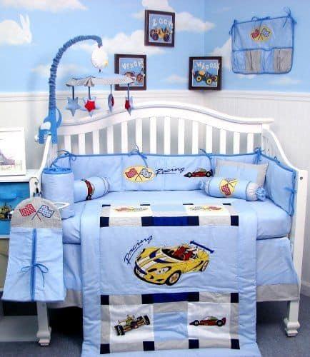 temas para quarto de bebê carros