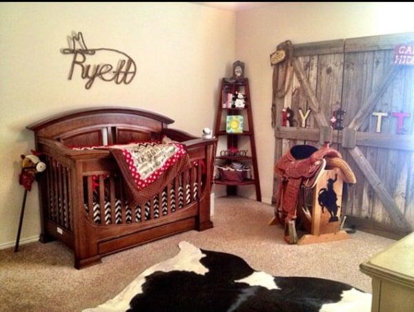 temas para quarto de bebê cavalo