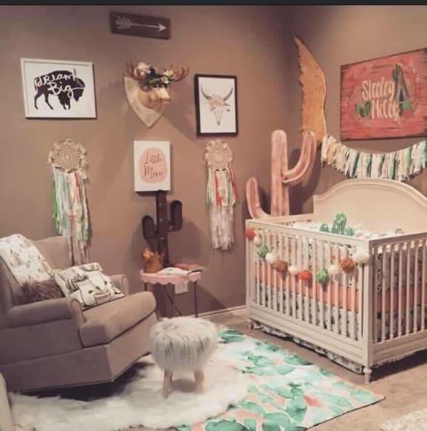 temas para quarto de bebê cavalos