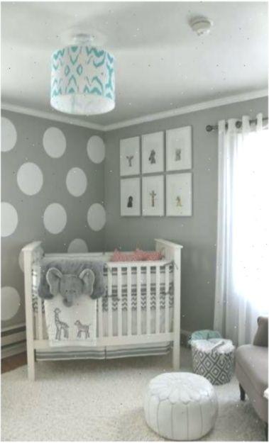 temas para quarto de bebê elefante cinza