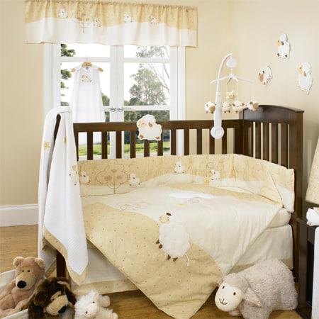 temas para quarto de bebê ovelhas