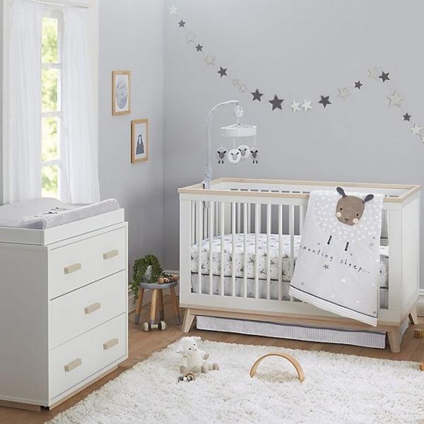 temas para quarto de bebê ovelhinhas
