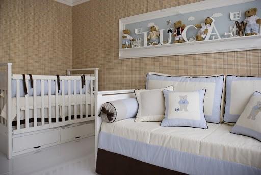 temas para quarto de bebê urso marrom