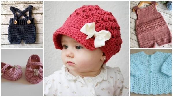 ideias de crochê para bebê