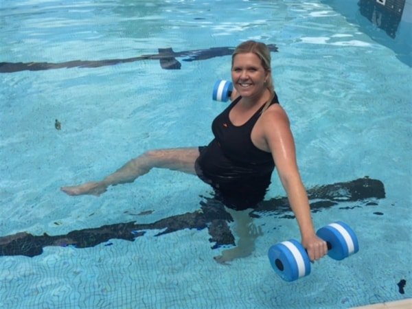 exercício para ajudar no parto