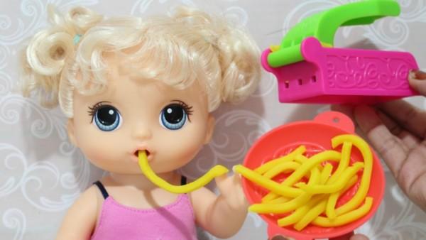 brinquedo interativo boneca baby alive
