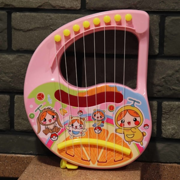 brinquedo interativo harpa