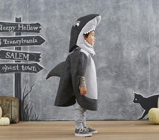 como fazer fantasia de tubarão