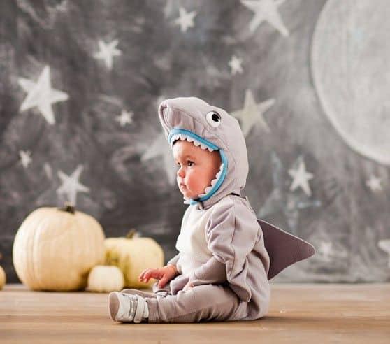 fantasia de tubarão baby 1