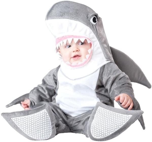 fantasia de tubarão para bebes