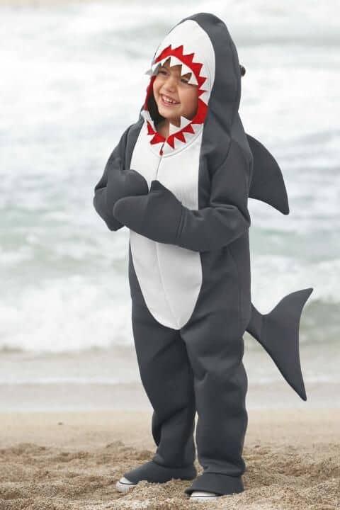 fantasia de tubarão para meninos