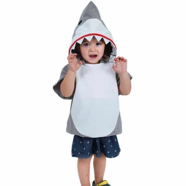 fantasia de tubarão simples