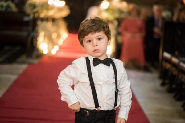 gravata infantil borboleta para casamento
