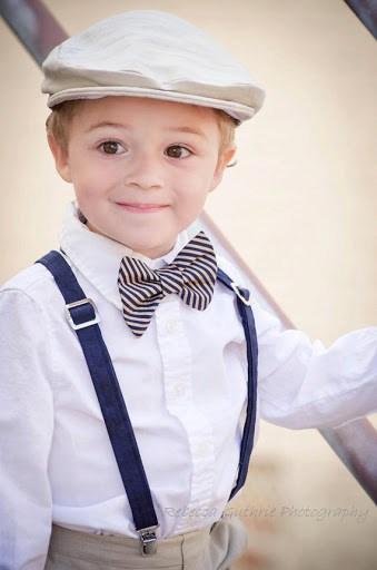 gravata infantil com suspensorio