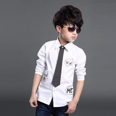 gravata infantil look estiloso