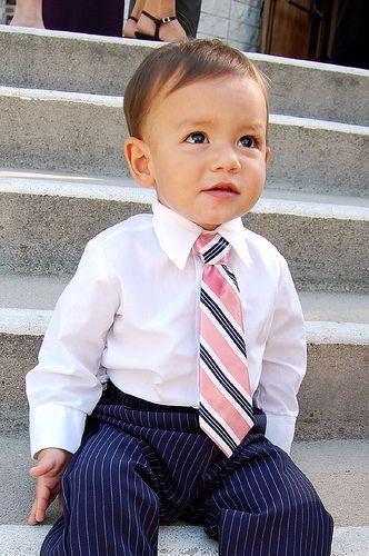 gravata infantil tradicional em crianças