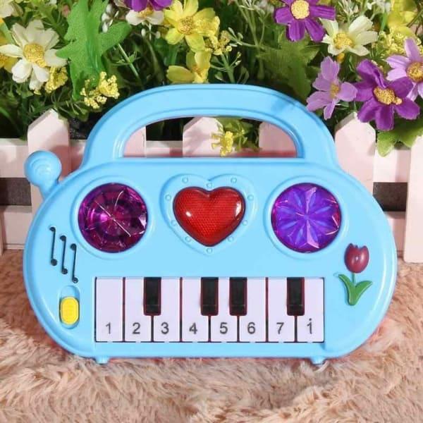 mini teclado brinquedo interativo