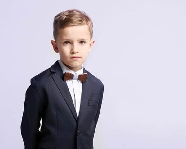 quando usar uma gravata infantil