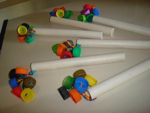 brinquedo reciclável simples