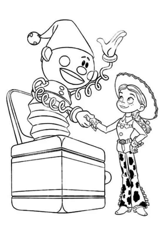 desenho Toy Story para imprimir
