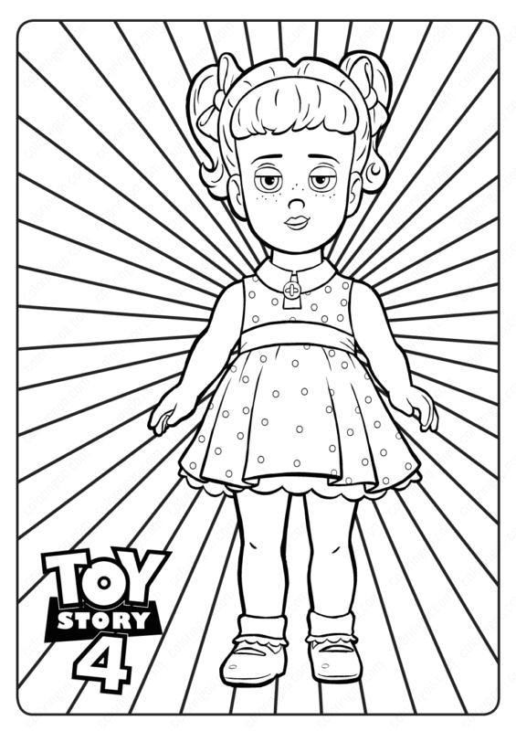 desenho Gabby Toy Story para pintar