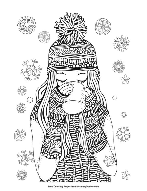 desenho para pintar com detalhes