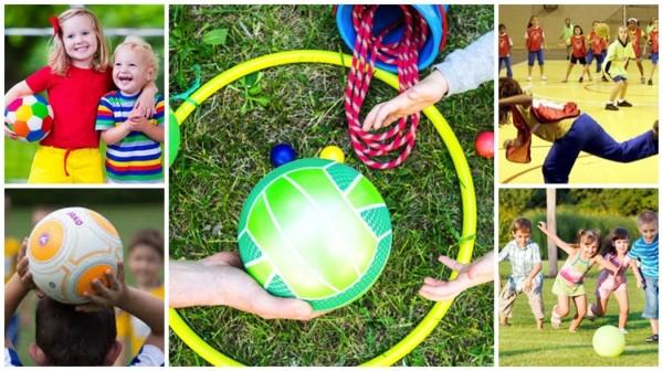 ideias de brincadeiras com bola