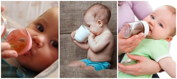 dicas sobre alimentacao de bebe com cha