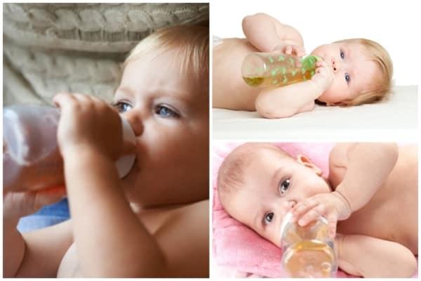 dicas e cuidados para dar cha para bebe