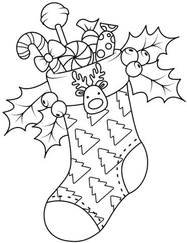 atividade de natal infantil para colorir