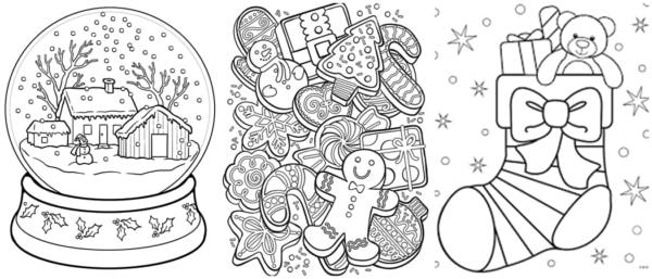 desenhos de natal para imprimir gratis e colorir