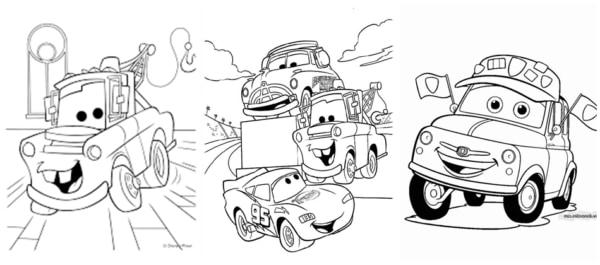 desenhos Carros para imprimir gratis e colorir