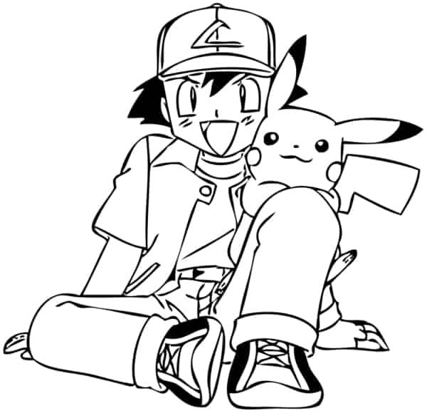 desenho para imprimir Pokemon