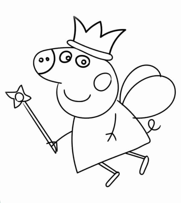 desenho da Peppa para imprimir gratis