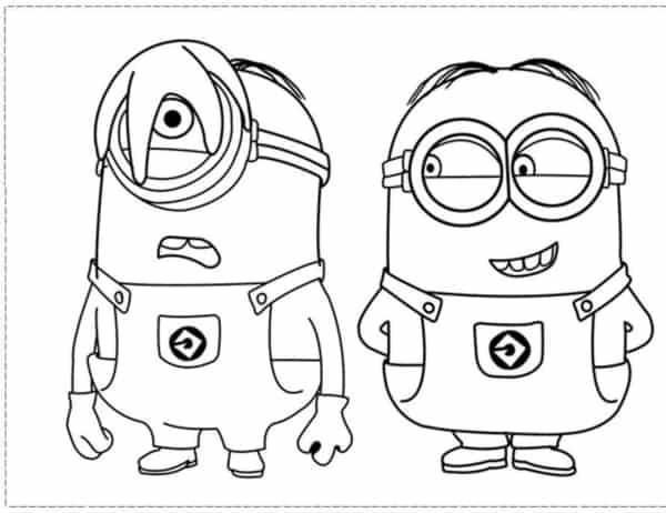 desenho Minios para imprimir gratis