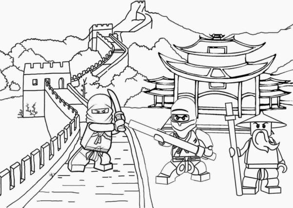 Ninjago para colorir gratis