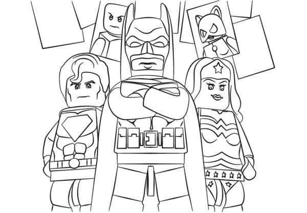 Superman Batman e Mulher Maravilha