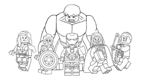 Viuva Negra Capitao America Homem de Ferro Thor Gaviao Arqueiro e Hulk