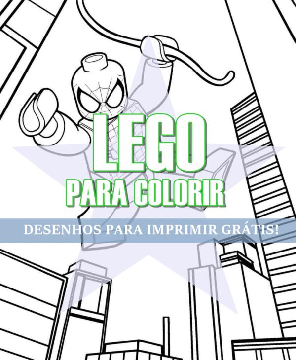 capa do post Lego para Colorir