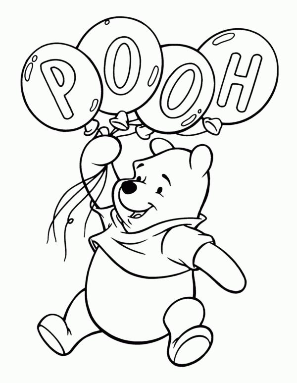 ursinho pooh com baloes