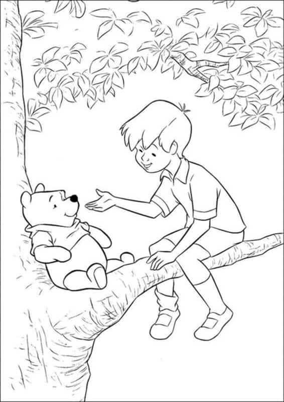ursinho pooh com christopher robin
