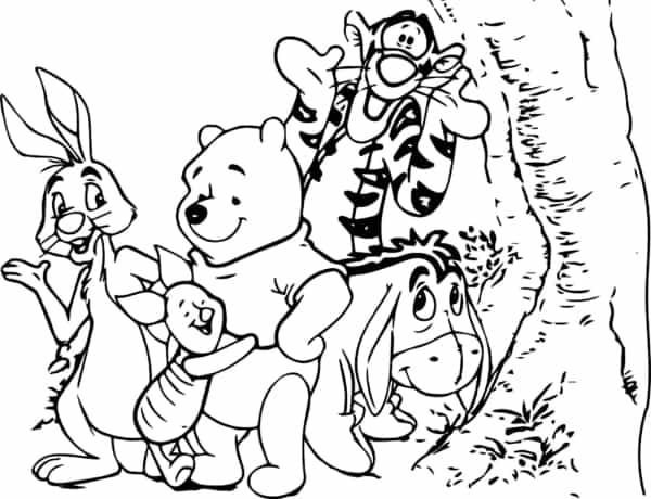 ursinho pooh e sua turma